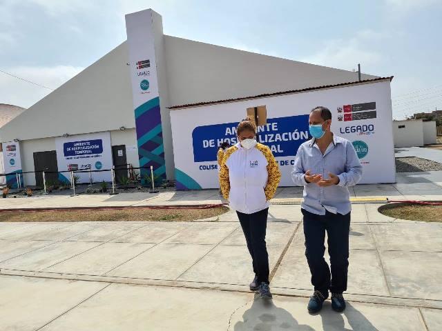 Hospital temporal para nuestra región Amazonas en marcha