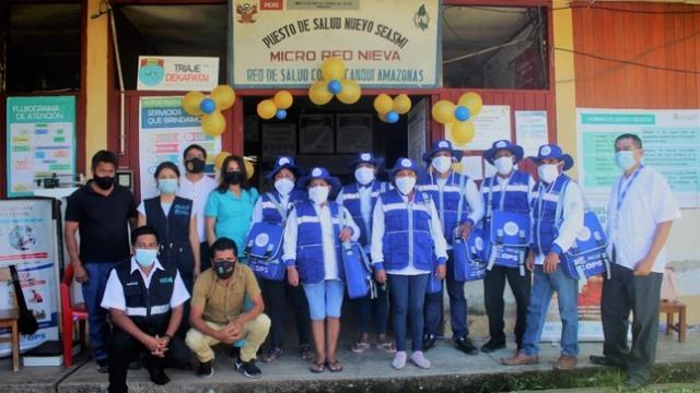 Condorcanqui: Agentes Comunitarios de Salud de comunidades nativas se suman a las acciones que realiza el sector