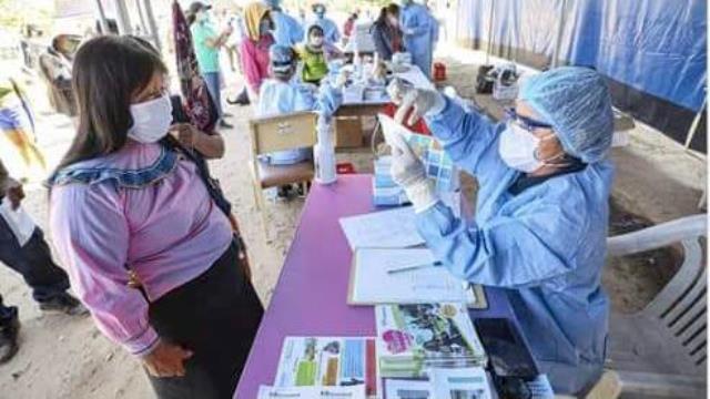 Minsa realizó coberturas sanitarias en diferentes comunidades de la Amazonía