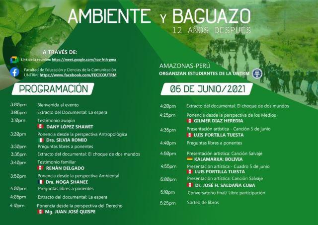 Carta 832: Ambiente y Baguazo, 12 años después…(04/06/2021)