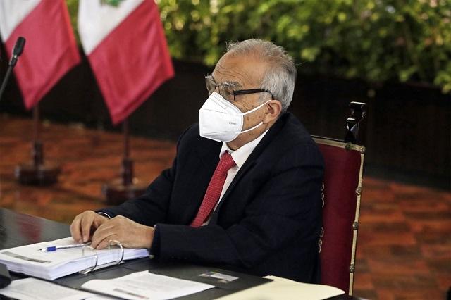 Aníbal Torres indicó que no ocupará ningún cargo político en el gobierno de Pedro Castillo