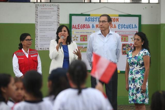 Reincorporación de directores cesados atenta contra la meritocracia, dice ministra Flor Pablo