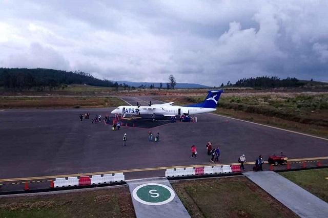 ATSA inicio las operaciones aéreas con nuevo avión en la ruta Lima-Chachapoyas-Lima