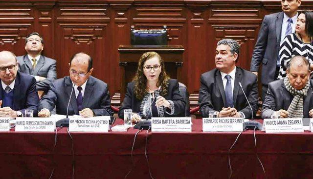 Bartra se enfurece con presidente del Jurado Nacional de Elecciones