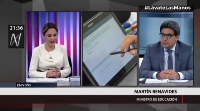Benavides: Las tabletas son tan demandadas como las pruebas para el COVID-19