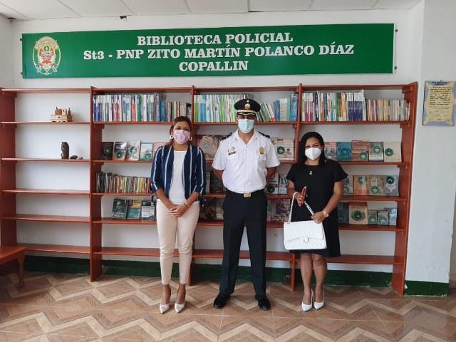 Bagua: Comisario de Copallín implementa biblioteca para niños y adolescentes de su comunidad