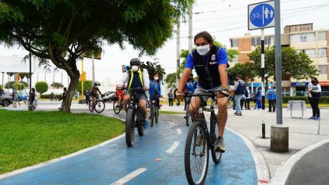 Minsa insta a la población y los gobiernos locales promover espacios para el uso de la bicicleta