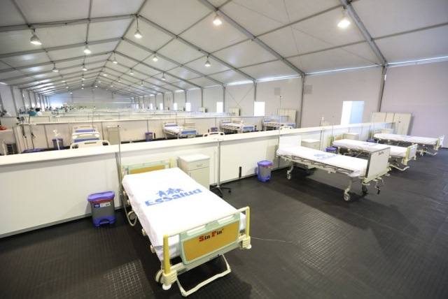 EsSalud pone en marcha hospitales de construcción rápida en Lima, Loreto, Lambayeque, Piura, Ucayali y Áncash para atender a pacientes Covid-19