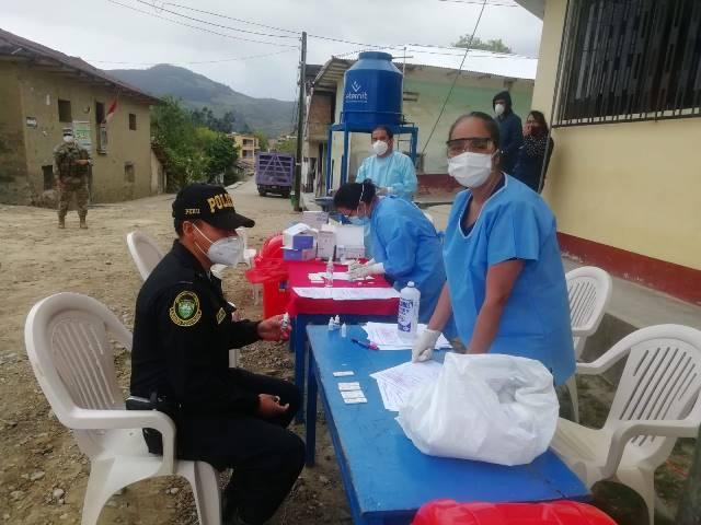 Con éxito se desarrolló Campaña de atención integral Covid-19 en el distrito de Pomacochas