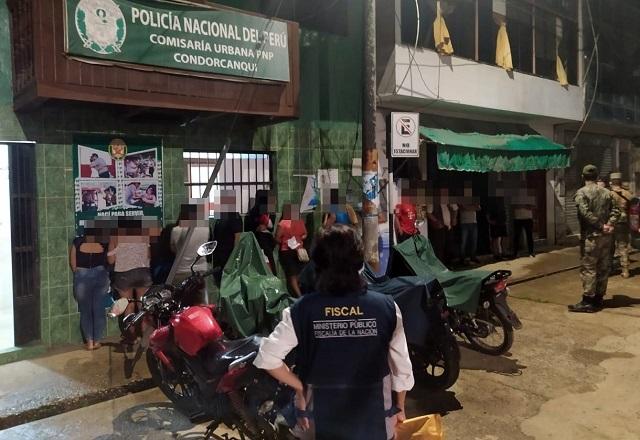 Diecisiete personas fueron intervenidas por incumplir cuarentena en Condorcanqui