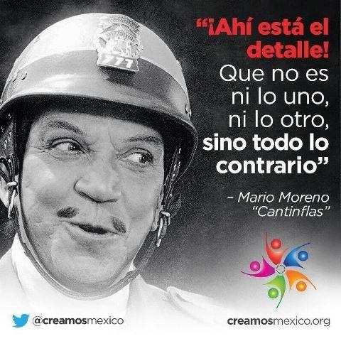 De bufones y Cantinflas…