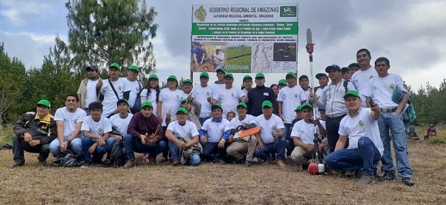 ARA capacita a comuneros de Luya y Utcubamba en manejo y aprovechamiento de plantaciones forestales