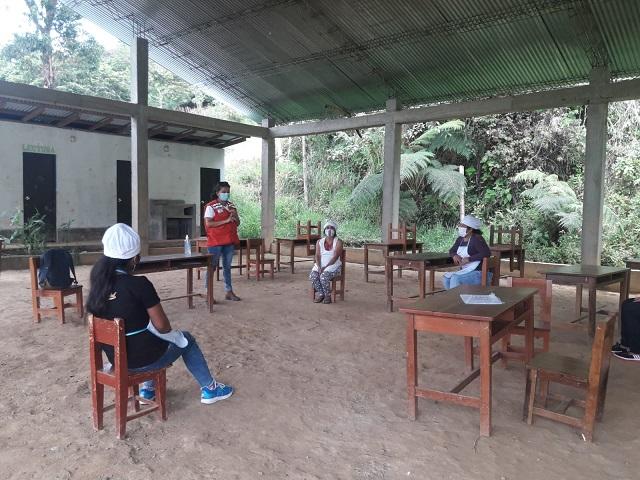 Amazonas: Monitores de gestión local de Qali Warma brindan capacitación a Comités de Alimentación Escolar