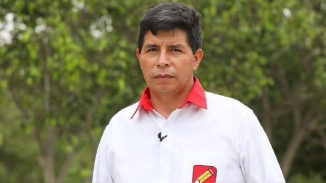 Pedro Castillo informó que los médicos le diagnosticaron una infección a la garganta