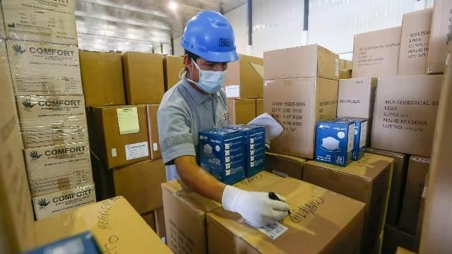 Cenares ha adquirido más de cien millones de unidades de EPP y medicamentos para afrontar el Covid-19