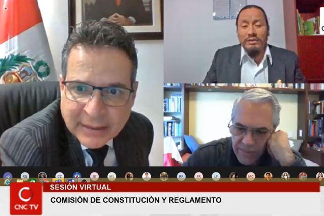 Congreso: Constitución aprueba dictamen para eliminar inmunidad parlamentaria