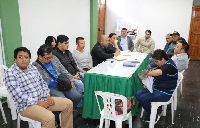 Dirección de Agricultura en coordinación con el Comité van definiendo la