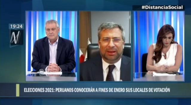Corvetto: ONPE dará resultados de elección de lugar de votación a fines de enero