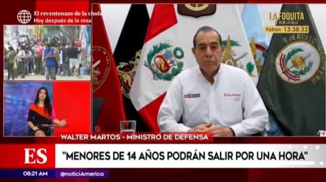 Walter Martos: La cuarentena no ha terminado, la cuarentena continúa