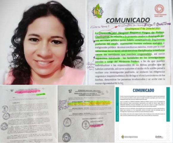 ¿Qué hay detrás del hurto de medicamentos en el hospital Virgen de Fátima en Chachapoyas?