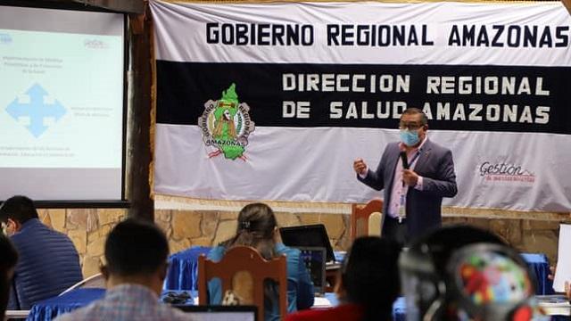 DIRESA Amazonas: Equipos técnicos de redes de salud y hospitales sostuvieron reunión para cierre de brechas presupuestales