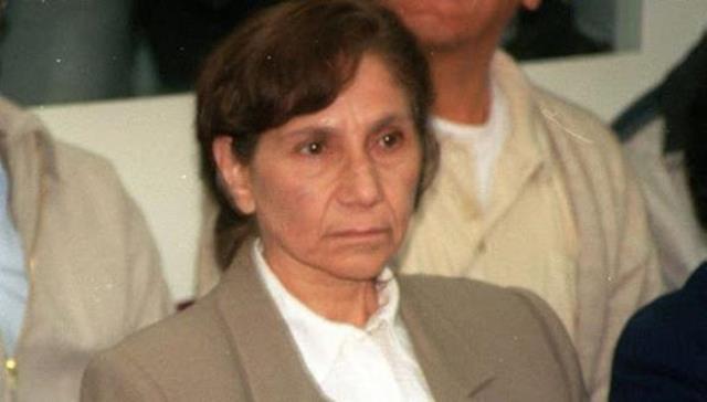 Terrorista Elena Iparraguirre fue vacunada contra el COVID-19
