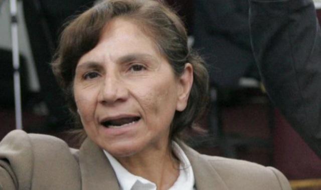 INPE traslada a terrorista Elena Iparraguirre a un penal de máxima seguridad
