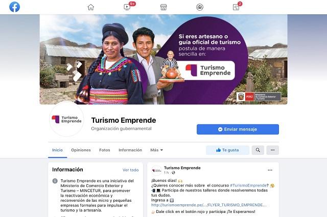 Turismo Emprende absolverá dudas de postulantes a través de página oficial en Facebook