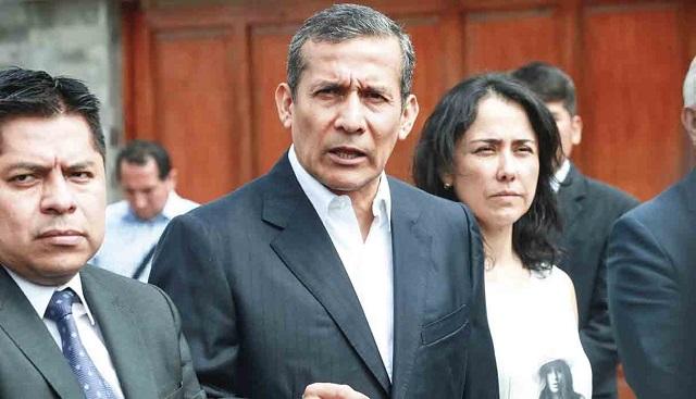 Sustentarán acusación contra los Humala-Heredia