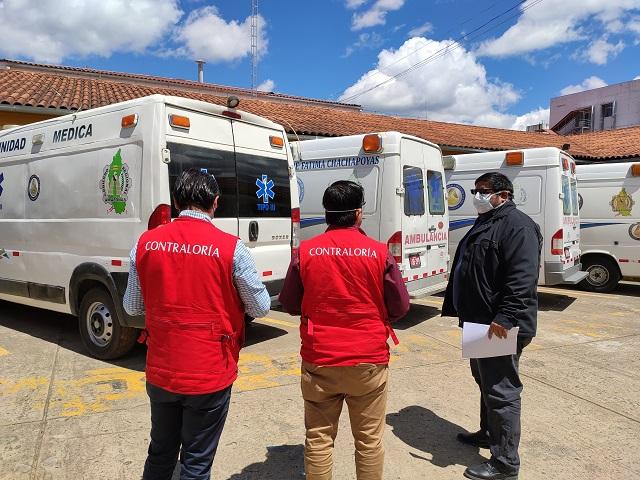 Contraloría supervisó hospitales de Amazonas para garantizar atención en pacientes por COVID 19