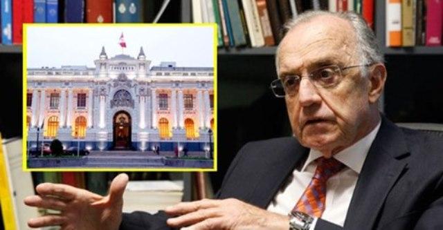 Ferrero: «No se puede acusar a 105 congresistas de haber actuado inconstitucionalmente»