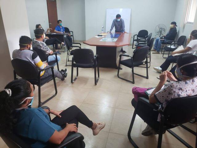 Alcalde Bagua, Ferry Torres, forma primera brigada de repuesta al Covid -19