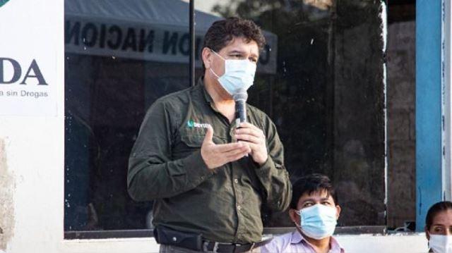 Presidente Ejecutivo de Devida presenta renuncia irrevocable debido a ataque injustificado del ministro del Interior