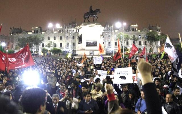 Organizaciones sociales convocan a marcha: