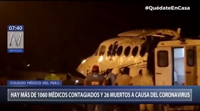 Colegio Médico del Perú: 1060 médicos infectados con el COVID-19 y 26 fallecidos
