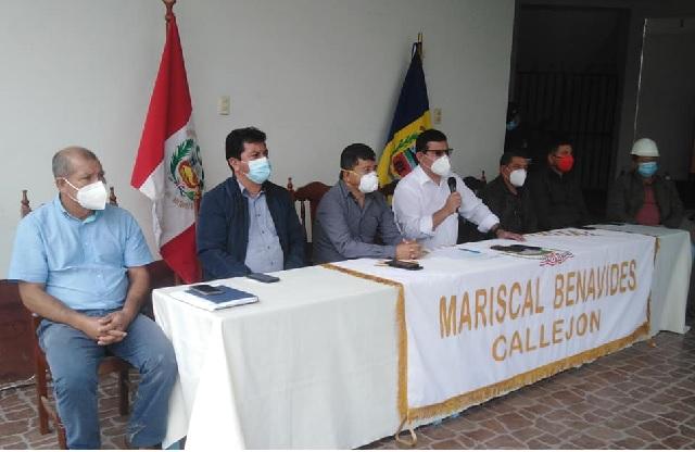 Municipalidad de Rodríguez de Mendoza, realiza campaña de mejoramiento de calles en San Nicolás