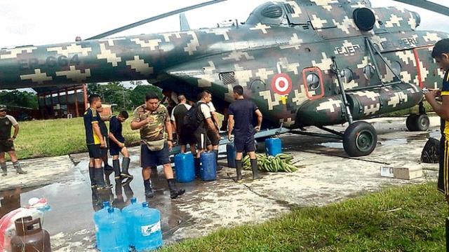 Helicóptero siniestrado transportaba bidones de gasolina y balones de gas