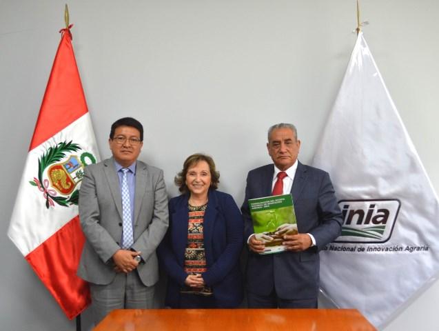 GORE Amazonas apoya creación de Red Macroregional Nororiental de Innovación del INIA