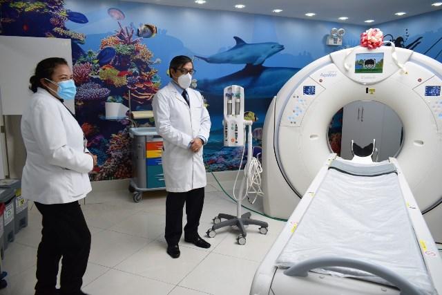 INSN BREÑA: modernos equipos radiológicos para diagnóstico y tratamiento de niños con covid-19 y otras enfermedades