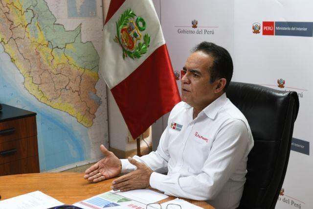 Ministro del Interior pide responsabilidad a la ciudadanía ante el fin de la cuarentena
