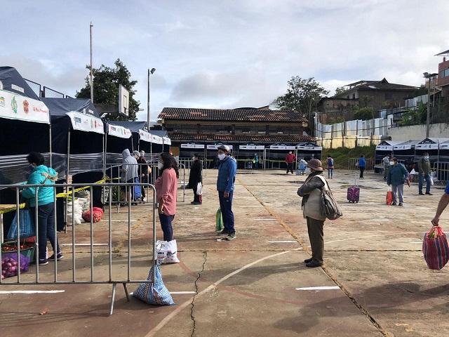 Amazonas: regresan renovados mercados itinerantes de la Chacra a la Olla
