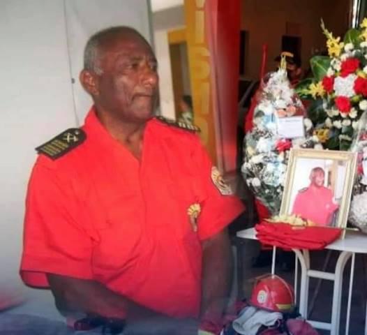 Comandante Miguel Jaime Abad, falleció víctima de la covid-19