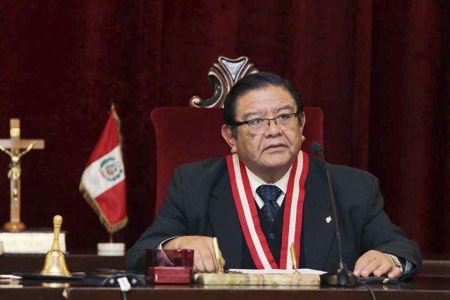 Nuevo presidente del Jurado Nacional de Elecciones asume funciones hoy