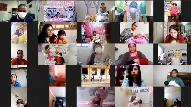 Ministra Mazzetti: Fortalecer la lactancia materna es lo mejor que podemos hacer en estos tiempos de pandemia