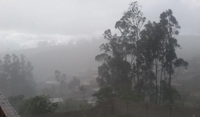 En Amazonas; cuando llueve sobre mojado