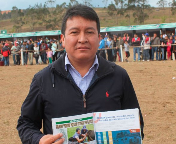 Jorge Maicelo Quintana es el nuevo jefe del Inia