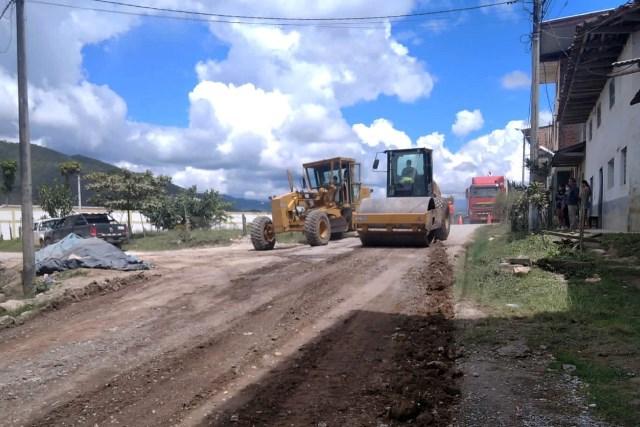 MTC atiende emergencias viales en la ruta Chachapoyas-Punta de Carretera en Amazonas