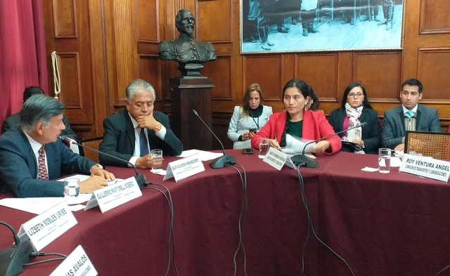 Congresista Marita Herrera solicitó incorporar plan de trabajo en favor de la interconexión vial de la región