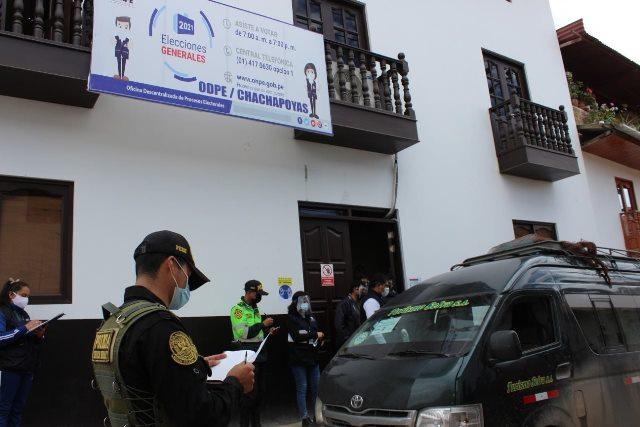 ODPE Chachapoyas inició el despliegue del material electoral a los distritos