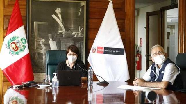 Ministra Mazzetti: Es momento de multiplicar acciones que nos permita acceder a la vacuna contra la Covid-19
